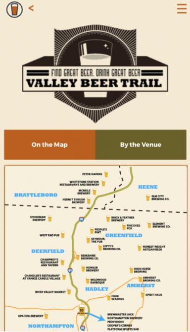 Valley Beer Trail App